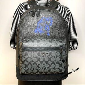 Coach Marvel Large Backpack Black Panther